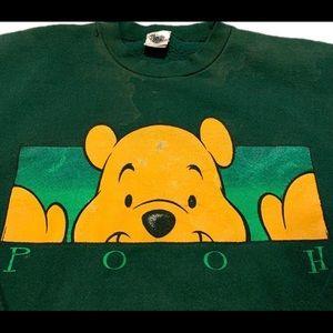 Vintage Sweaters - Vintage Disney Winnie the Pooh Crewneck